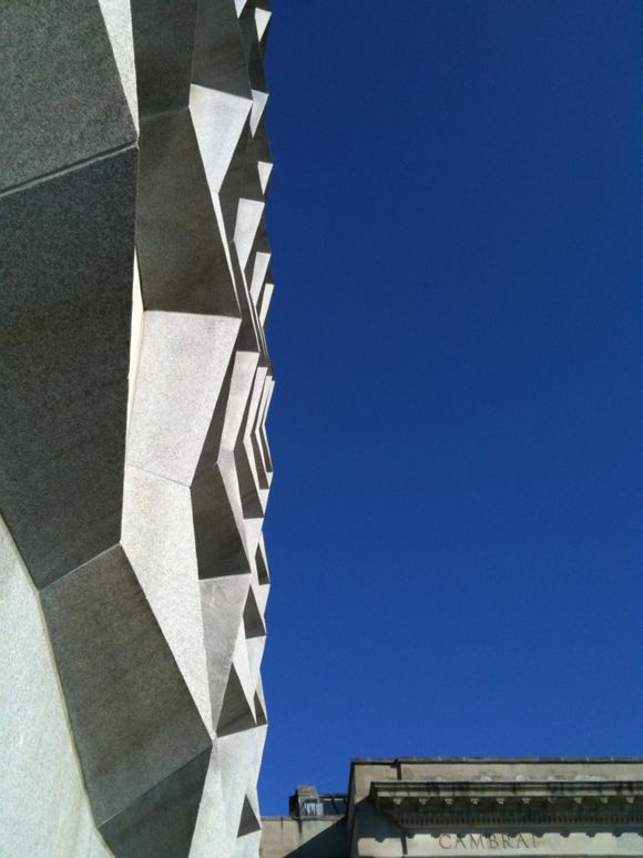 Exterior of the Beinecke Library at Yale