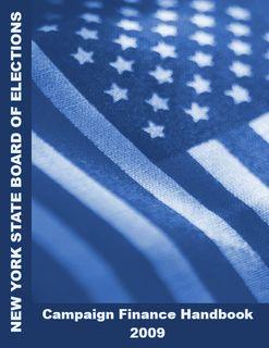 NYS BOE Campaign Finance Handbook
