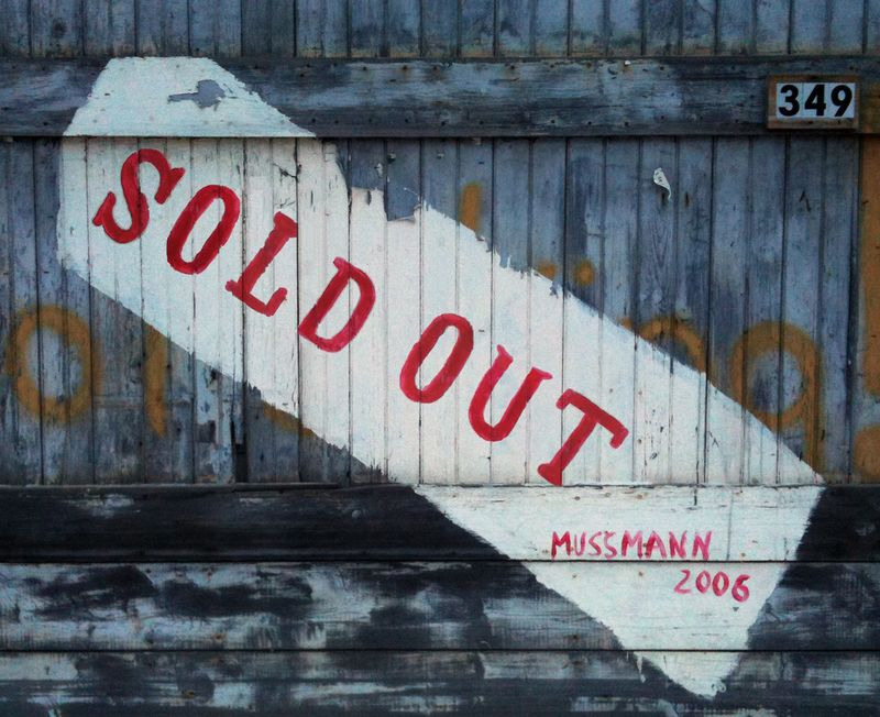 Linda Mussmann: Sold Out